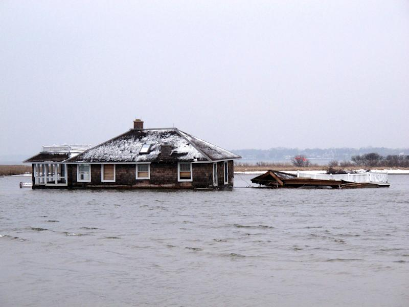 Submerged superstorm debris threatens tourism
