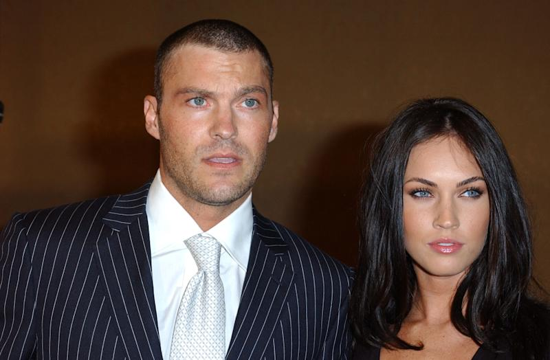 Brian Austin Green and Megan Fox (Photo by Albert L. Ortega/WireImage)