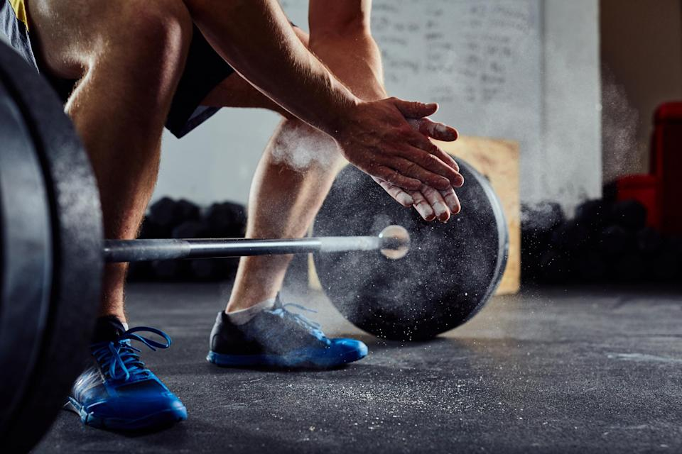 Weight lifting helps build muscle faster (Stock)