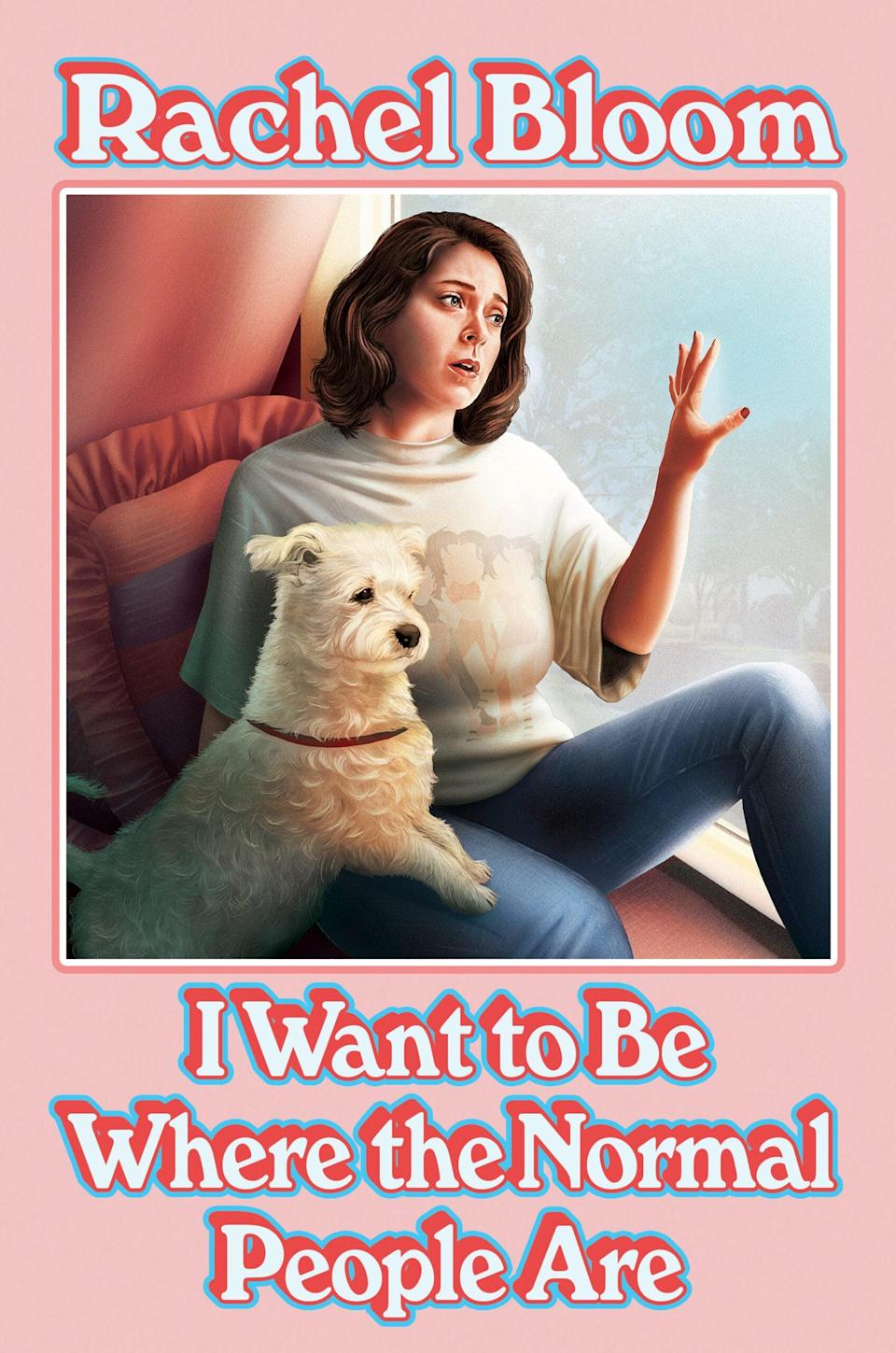 "<p><strong>Crazy Ex-Girlfriend</strong> co-creator Rachel Bloom's first collection of essays, <span><strong>I Want to Be Where the Normal People Are</strong></span>, is both hilarious and endlessly relatable. Whether she's writing about her lifelong desire to be ""normal"" or revealing her Disney obsession, reading Bloom's essays is like chatting with your wittiest friend. </p> <p><em>Out Nov. 17</em></p>"