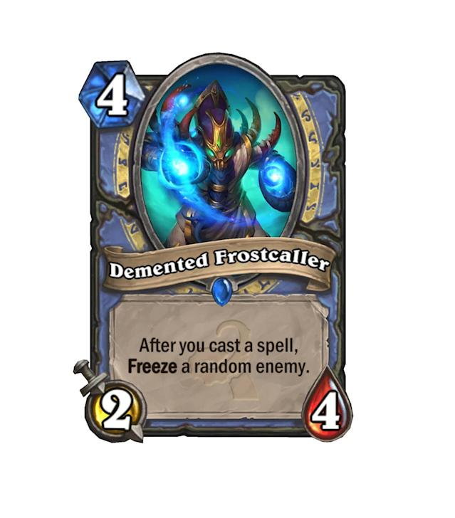 <p>Demented Frostcaller's price may seem high at first, but his ability to control is downright game-winning, given enough time.</p>