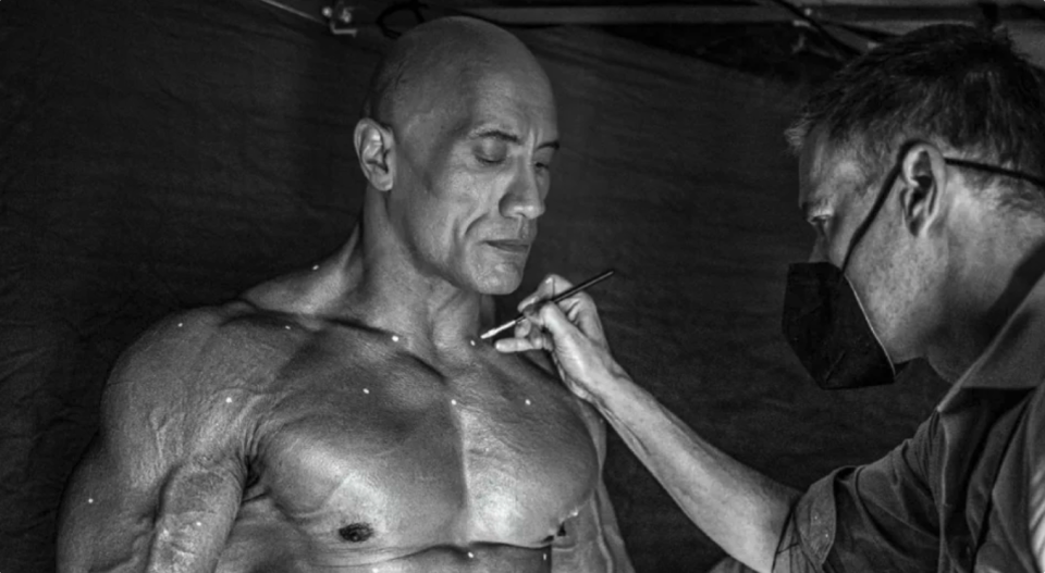 The Rock posts extremely toned body, shares training has been 'hardest of my career'