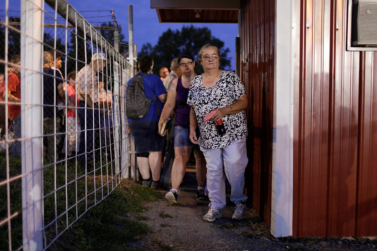 <p>People arrive to receive medical and dental care at the Remote Area Medical Clinic in Wise, Va., July 21, 2017. (Photo: Joshua Roberts/Reuters) </p>