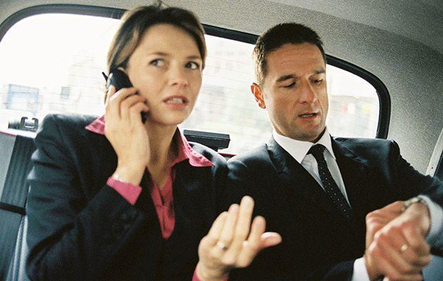 Yelling at taxi drivers will not make you go faster. Photo: Thinkstock
