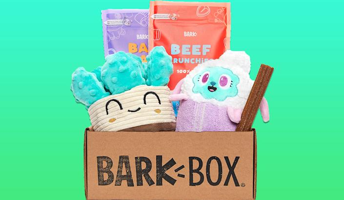 BarkBox curates cute, quality products for your pet every month! (Photo: Amazon)