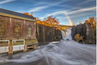 """<p><a href=""""https://www.nps.gov/pagr/index.htm"""" rel=""""nofollow noopener"""" target=""""_blank"""" data-ylk=""""slk:Paterson Great Falls National Historical Park"""" class=""""link rapid-noclick-resp""""><strong>Paterson Great Falls National Historical Park </strong></a></p><p>A small park with a big payoff. These spectacular falls, which are 77 feet high, were used to help create mills and industrialize the city. Visit in the spring to see them at their most impressive. </p>"""