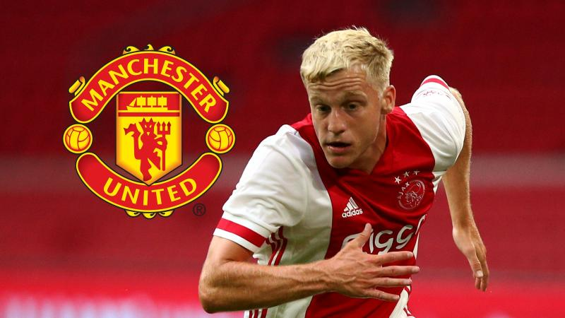 Man Utd sign Ajax star Van de Beek in £35m deal
