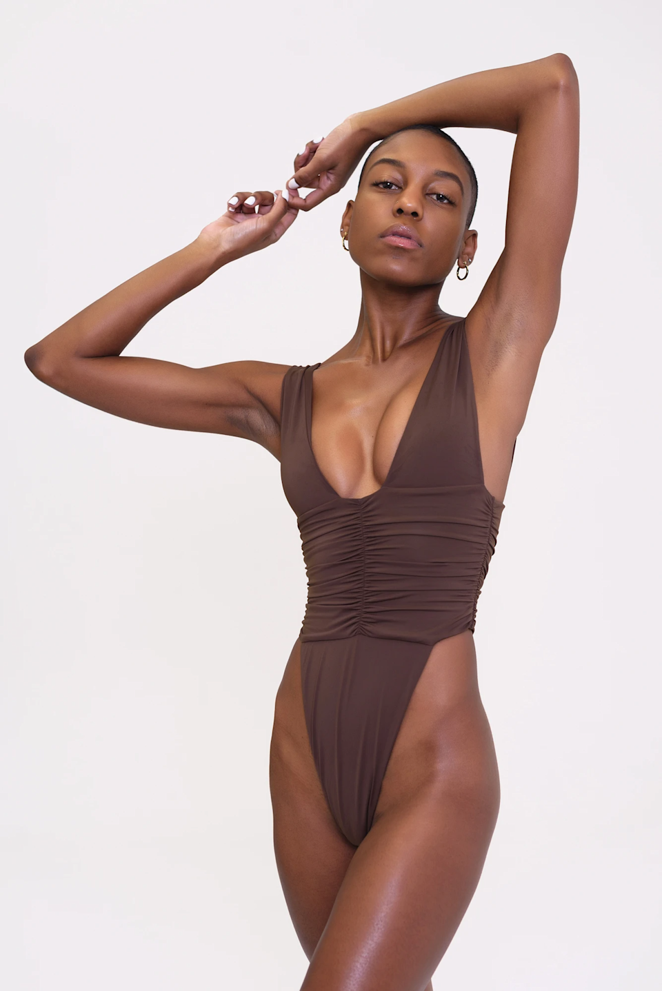 """<br><br><strong>RIOT SWIM</strong> Echo One Piece-Chocolate, $, available at <a href=""""https://go.skimresources.com/?id=30283X879131&url=https%3A%2F%2Fwww.riotswim.com%2Fproducts%2Fecho-one-piece-chocolate"""" rel=""""nofollow noopener"""" target=""""_blank"""" data-ylk=""""slk:RIOT SWIM"""" class=""""link rapid-noclick-resp"""">RIOT SWIM</a>"""