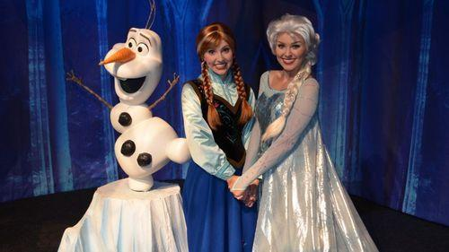 frozen disney world