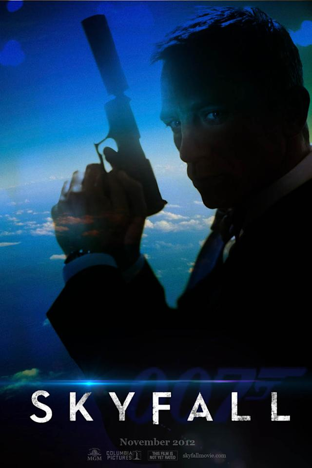The first trailer for the upcoming James Bond film, 'Skyfall,' will be out next month.