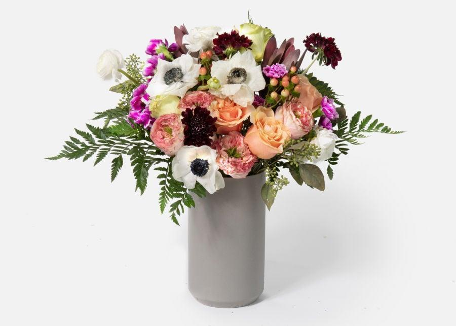 <p>This <span>UrbanStems The Cashmere</span> ($135) bouquet is so beautiful and unique.</p>