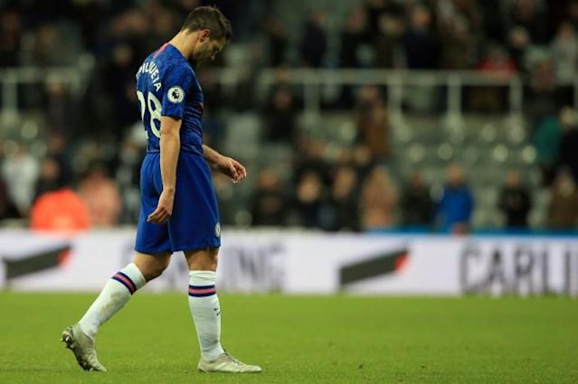 Chelsea's slump in form has kept the race for fourth in the Premier League alive (AFP Photo/Lindsey Parnaby)