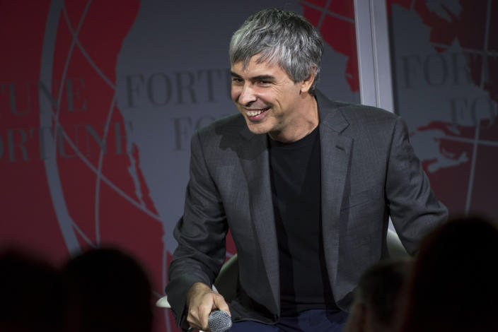 <strong>8e </strong>- Larry Page (USA/Google) / <strong>71,7 milliards de dollars</strong>