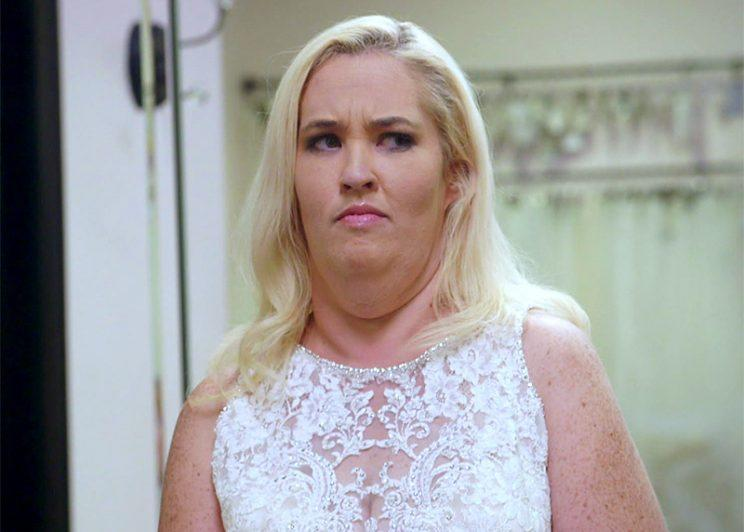 Mama June revealed her dramatic weight loss on her new TV show. (Photo: WeTV)