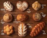 "<p>Boudin Bakery is helping you carbo-load with its bread of the month club. You can choose between a seasonal subscription that sends you fun-shaped loaves, or the specialty bread subscription that sends you one sourdough round plus one artisan bread like cinnamon raisin, Irish soda, sun dried tomato, sweet cinnamon, and more every month.</p><p><a class=""link rapid-noclick-resp"" href=""https://store.boudinbakery.com/12-month-specialty-bread-club-991-p479.aspx"" rel=""nofollow noopener"" target=""_blank"" data-ylk=""slk:BUY NOW"">BUY NOW</a> <strong><em>$22.95 per month, boudinbakery.com</em></strong></p>"