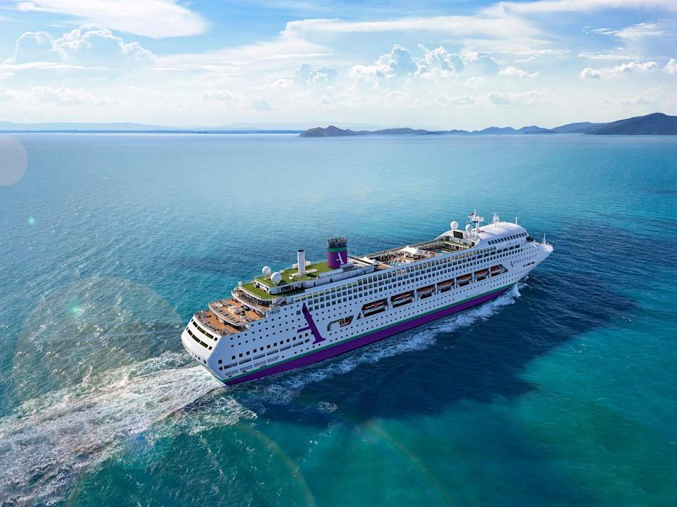Ambience is Ambassador Cruise Line's first ship (Ambassador Cruise Line)