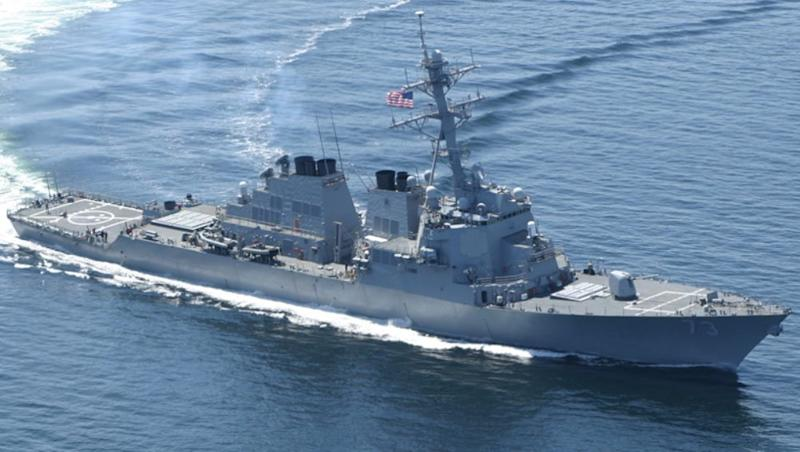 Freedom of Navigation: U.S. Navy Warships Sail through Taiwan Strait amid Tensions with China