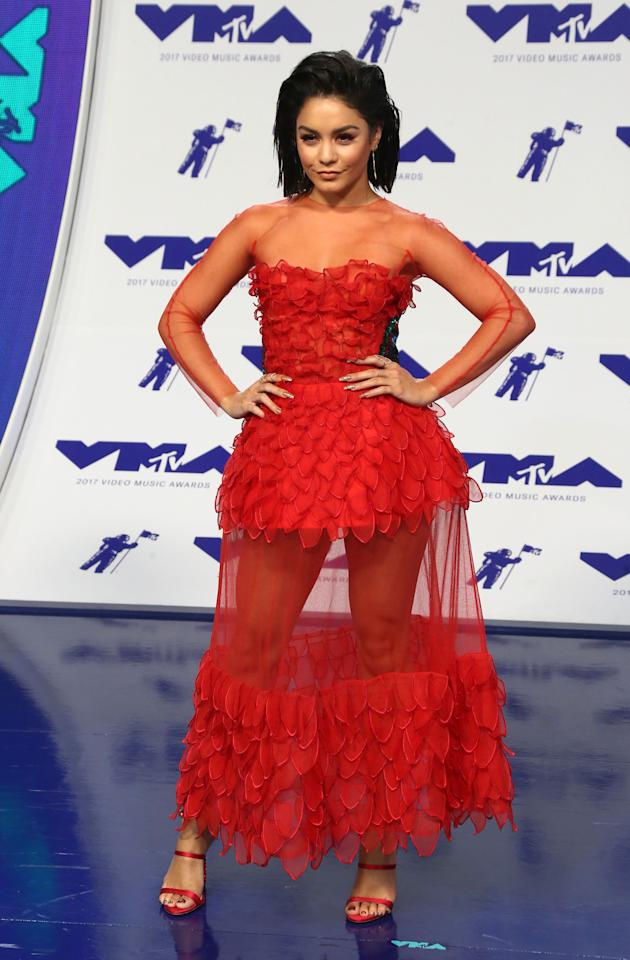 Actress Vanessa Hudgens at the MTV Video Music Awards