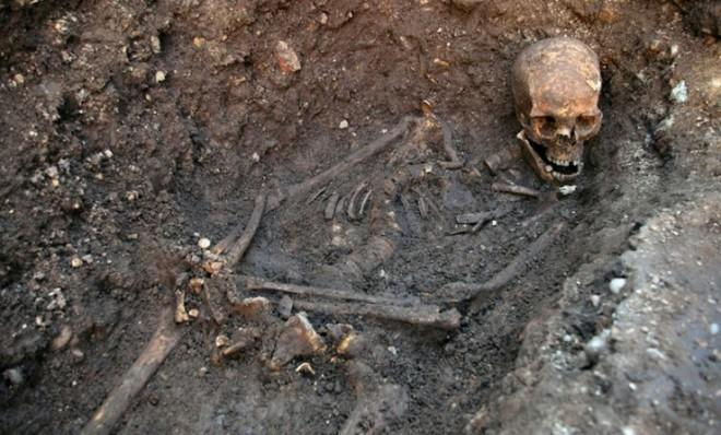 These are the remains of King Richard III.