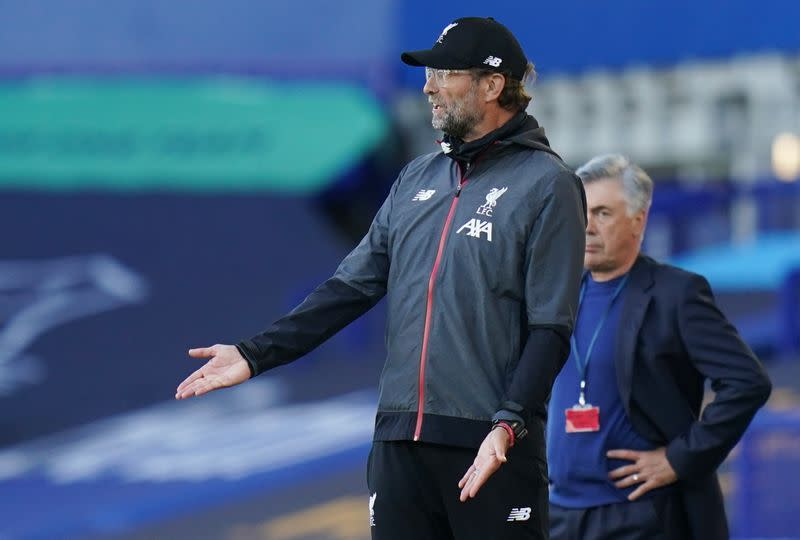 Klopp laments lack of chances after derby draw