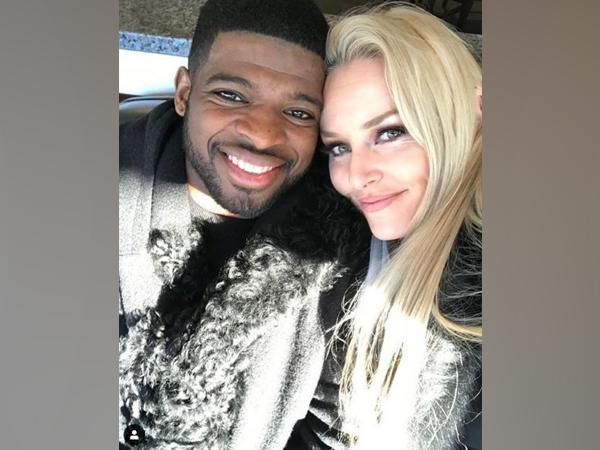 P.K. Subban and Lindsey Vonn (Image courtesy: Instagram)