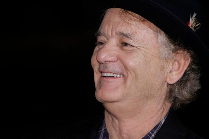 Bill Murray responded to a copyright threat by Doobie Brothers by offering them free golf shirts. (Getty Images)
