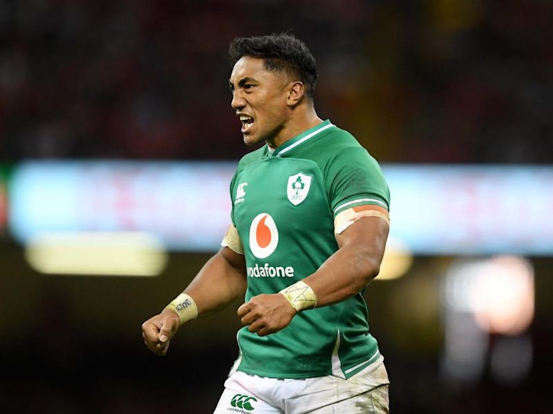 Bundee Aki has defended his right to play for Ireland ahead of the Rugby World Cup: Getty