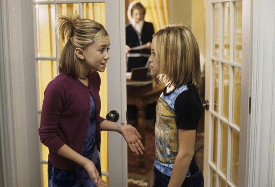 <p>Name bigger hair influencers than the Olsen twins in the 2000s, we'll wait. Some of their looks were hard to replicate, but all the fanned half-up, half-down style required was a couple bobby pins. </p>