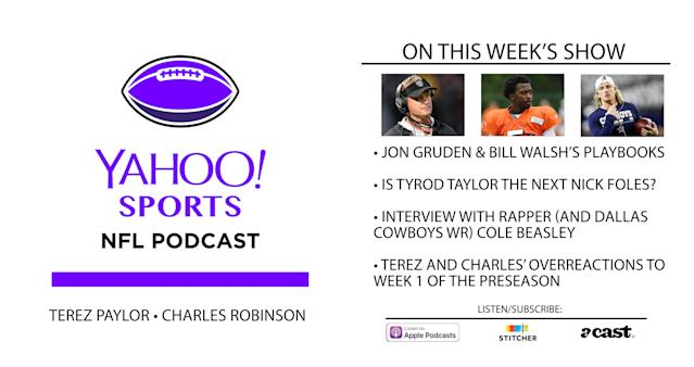 Find the Yahoo Sports NFL Podcast wherever you download podcasts.