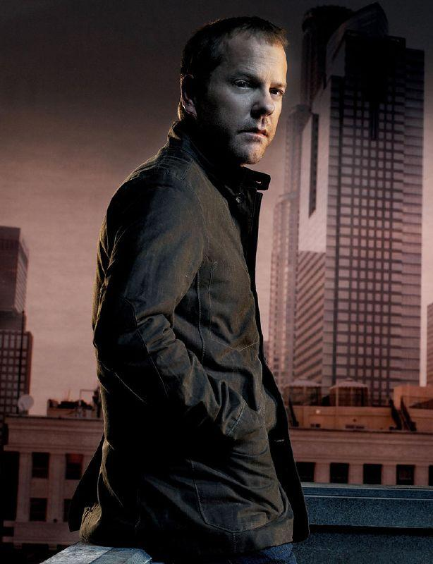 """<a href=""""/kiefer-sutherland/contributor/29952"""">Kiefer Sutherland</a> receives a Best Actor (Drama) Golden Globe nomination for his role as Jack Bauer on <a href=""""/24/show/28479"""">24</a>."""