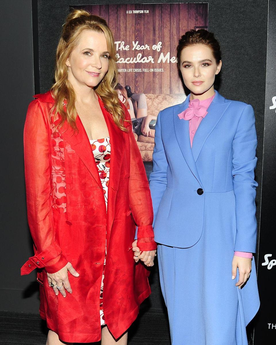 <p>Zoe Deutsch was born into *quite* a famous crew. Her mom is Lea Thompson, who is best known for starring in all of the <em>Back to the Future </em>films. </p>