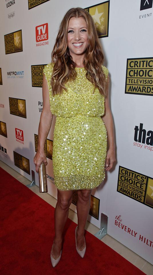 Kate Walsh attends the 2012 Critics' Choice Television Awards at The Beverly Hilton Hotel on June 18, 2012 in Beverly Hills, California.