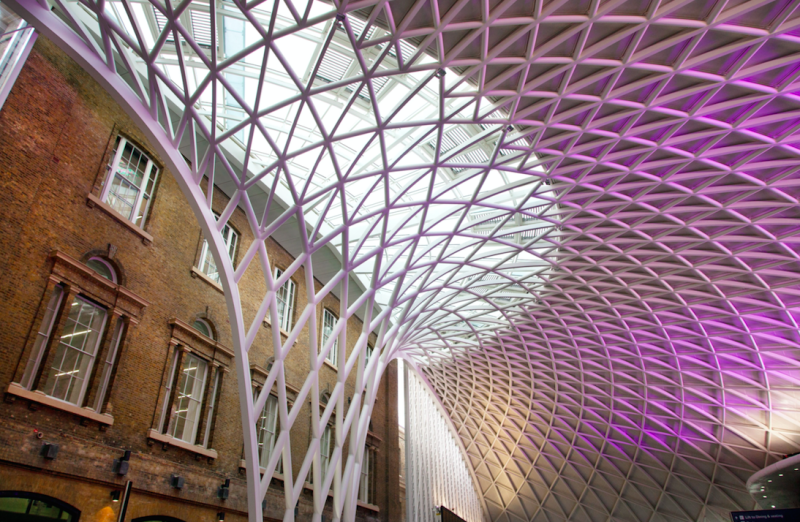 The crash happened in August at King's Cross (Picture: Rex)