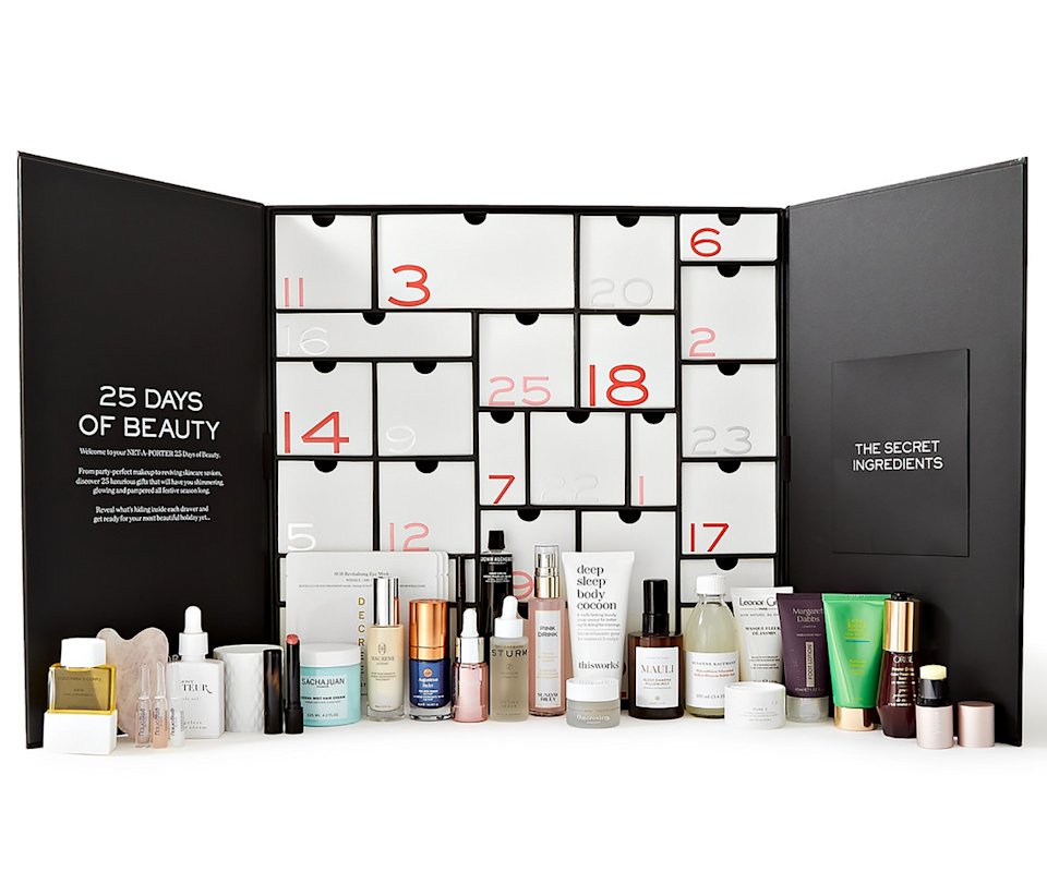 Net-A-Porter's iconic beauty advent calendar is worth over $1,700.
