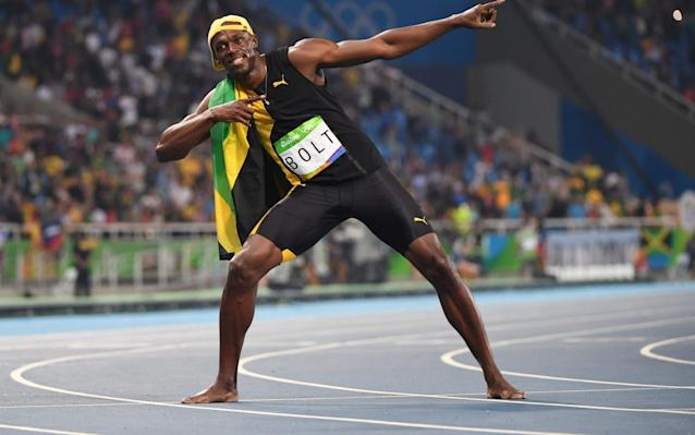 Usain Bolt is a legendary figure. Rumours abound of chicken nugget-fuelled world records, and covertly-signed contracts to play for Manchester United once he hangs up his track spikes. He is, without a doubt, one of the greatest athletes in the world right now, and will go down in history for his achievements: if you're going to know ten obscure facts about any sportsman or woman, make it Usain St. Leo Bolt. 1. It all began with a bet over a free lunch When Bolt was just twelve years old, local priest Reverend Nugent overheard the youngster bickering with his close friend, Ricardo Gedes, over who was the quickest runner. Nugent decided to up the stakes in a bid to persuade the would-be sprinters to commit to the contest: free lunch to the winner. The pair were sold, and Usain Bolt tore to victory. As the priest departed and Bolt tucked into his spoils, legend has it that Nugent told the young Jamaican: 'If you can beat Ricardo, you can beat anyone'. A star was born. Usain Bolt's best quotes 01:19 2. He's quite the philanthropist In 2009, Bolt paid just over £10,000 to formally adopt an abandoned cheetah cub - named Lightning Bolt - in Nairobi, and has since paid £2,300 a year to cover its upkeep at the orphanage. His support of Kenya's wildlife conservation efforts are surpassed by his charitable work closer to home: the Usain Bolt Foundation works to benefit local youngsters, through sporting provisions, improving community structures, and funding talented Jamaicans to excel in their chosen disciplines. The man might be worth millions of dollars these days, but, right from the off, he ensured his sponsorship deal with Puma provided for his hometown; every year, the manufacturer sends sporting equipment to his alma mater, William Knibb Memorial High School, to help others follow in its most famous alumni's footsteps. When you see Usain Bolt in an advert, it's most likely filmed in Jamaica, by a Jamaican production crew, in an attempt to boost local enterprise and gain exposure for the country. Under whose insistence? Bolt's, of course. But will Bolt look so kindly upon his charge in a year or two, when the cheetah is the quicker of the pair? Credit: roberto schmidt/afp/getty images 3. He's actually got a lightning-quick start Contrary to popular belief, the sprinter - when he executes properly - has one of the best starts in the sport, belying his height. His 100 metre world record in Beijing included an opening 60 metres which is believed to be quicker than the current world record over that distance. Where he pulls ahead from his rivals is the final stages of a race, where his long stride comes into its own, but don't follow the crowd and talk about Bolt as a 'weak starter': it's a common misconception. 4. He's a wicked cricketer Transferring some of his phenomenal speed from the track to the pitch appears second nature to the Jamaican, who was an avid fan of the sport as a youngster. A particular highlight has to be his smashing of Chris Gayle, West Indies national team captain, for six - shortly before clean bowling him with a none-too-shabby bouncer. That performance, as captain of the Trelawny All Stars XI in 2009, was followed by an exhibition fixture in Bangalore at the Chinnaswamy Stadium, in which the Jamaican hit a six off fellow Puma ambassador, India international Yuvraj Singh. Cricket lovely Cricket..Was great fun in India.. 6's and 4's rained from the sky..NJ and I successfully chased 61 runs from 4 overs to win the match.. #BoltinIndia #TeamBolt #Cricket #India #Sixes #Fours #Puma A photo posted by Usain St.Leo Bolt (@usainbolt) on Sep 2, 2014 at 9:26am PDT 5. He's got his own app The 'Bolt!' game rocket up to the top of the Jamaican charts, and reached the dizzying heights of number two in the UK's top free apps list for 2012. Bolt's not used to finishing second in anything, but he'll have been pretty pleased with that. In the game, users steer an animated version of the sprint star through a variety of challenges to unlock faster sprint speeds. Having just taken it for a spin, I can report that it escalates pretty quickly: the faster you (Bolt) run, the more pirate (yes, pirate) traps are set for you, and the more Gatorade icons you require to sustain top speed. Eventually, you obtain a rocket grenade launcher, with which you can put paid to those pesky pirates once and for all. Relevant? Not in the slightest. Good fun? You bet. 6. He owns a restaurant in Jamaica 'Usain Bolt's Tracks and Records', outstanding pun work aside, seems pretty popular - a music and sport bar, described on its website as 'the first of its kind in the Caribbean region', striving to 'break the barriers of a casual eatery and sports bar & lounge'. As eateries go, it's a bit of a chimera - 7,000 square feet including a Jamaican fusion menu, multiple bar and lounge areas, 'hi-tech booth seating', a retail shop carrying exclusive Brand Bolt products, 45 flat screens for sporting events - including a 20 foot wide screen, and a decor featuring 'the fundamentals of brand Jamaica'. The establishment promises to satisfy through 'sight, sound, taste and touch'. We're dying to try it out. Hey! Stop by and watch the race in the morning, get yuh excitement (and free coffee) before work! pic.twitter.com/iODnSdEYPH— UB's Tracks&Records (@UBTandR) August 27, 2015 7. He's managed all that he's achieved with scoliosis Bolt's biomechanical advantages are numerous, but one area in which his body isn't a raw speed machine is his spine, where he suffers from an abnormal curvature. When a younger athlete, the condition often hampered his progress, he describes, and contributed to the series of niggles which delayed the realisation of his enormous potential. But, once Coach Mills established a consistent performance team around Bolt, the Jamaican has strengthened his core and back significantly, and the condition appears not to trouble him any more. He's not alone in this, though - British middle distance athlete Emelia Gorecka, Romanian Olympic gymnast Alexandra Marinescu, and swimmer Jennifer Thompson of the United States, one of the most decorated Olympians in history - prove that a spinal curve need not hold you back. 8. He's a loyal patient of controversial doctor, 'Healing Hans' Hans-Wilhelm Muller-Wohlfahrt, Bayern Munich's ex-doctor, is known for unconventional substances, including Hyalart - extracted from cockerel crests - and Actovegin, which can be found in calves' blood. The pair have worked together since Bolt was 16 years old, and he visits the doctor, now in his seventies, three or four times a year. A host of well-known figures have visited Healing Hans in the past, including Bono, Luciano Pavarotti, Boris Becker, and Bolt's one-time rival, Tyson Gay. Muller-Wohlfahrt is an acupuncture and homeopathy specialist, trusted wholeheartedly by his athletes, and boasts a pair of signed Puma spikes in his office from Usain Bolt. Five of the eight finalists at the 2009 World Championships in Berlin have been treated by the German at one time: despite the air of mystery shrouding the figure, he clearly knows his stuff. Starting the recovery process right away. pic.twitter.com/J0HuvxOfiJ— Usain St. Leo Bolt (@usainbolt) July 2, 2016 9. He's actually covered 100m in less than nine seconds Bolt's relay split in the London, in the men's 4x100 metre final, has been given as 8.70 seconds - as he pulled away from Ryan Bailey of the United States down the final straight en route to a 36.84 finishing time. A lot of focus is put upon Bolt's individual performances, but he's been a part of the six fastest sprint relays of all time, consistently dipping below nine seconds in his splits for these. Quite frankly, that's ridiculous. 10. He's gone about wins in some very unconventional ways Evoking Chumbawamba's seminal 1997 hit, Usain Bolt has had a few setbacks along the way to a glittering career, but he's come back unperturbed to rewrite history time and again. The Jamaican managed his second 100 metre world record in 2008 with his shoe untied - decelerating before the line and thumping his chest in his first Olympic final, a golden lace streaming behind him. His fuel that day?McDonald's chicken nuggets. Three years later, he false started in Daegu in the 100 metres to lose his only major championship event since 2008 before breaking the world record in the 4x100 and winning the 200m with the fifth fastest clocking of all time. And then - perhaps most ignominiously of all - Bolt was taken out by an errant cameraman's segway in 2015 after winning his fourth consecutive 200 metre world championship gold - he's no stranger to a hiccup en route to success.