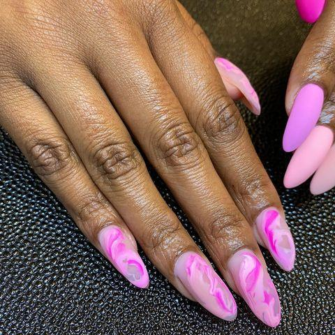 """<p>Doesn't the matte texture just amplify this look to the top tier? </p><p><a href=""""https://www.instagram.com/p/CLsR8wkpp59/"""" rel=""""nofollow noopener"""" target=""""_blank"""" data-ylk=""""slk:See the original post on Instagram"""" class=""""link rapid-noclick-resp"""">See the original post on Instagram</a></p>"""