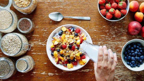 PHOTO: A healthy breakfast of muesli and milk is pictured in this undated stock photo. (STOCK PHOTO/Getty Images)