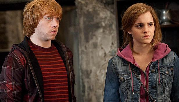 Ron and Hermione (Yahoo! Photo)