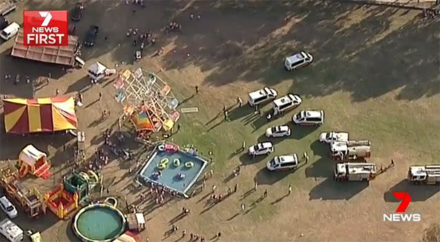 Untold carnival accidents have been revealed through freedom of information documents. Photo: 7 News