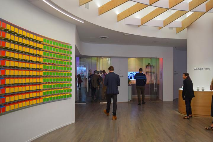 inside google pop up shop store nyc