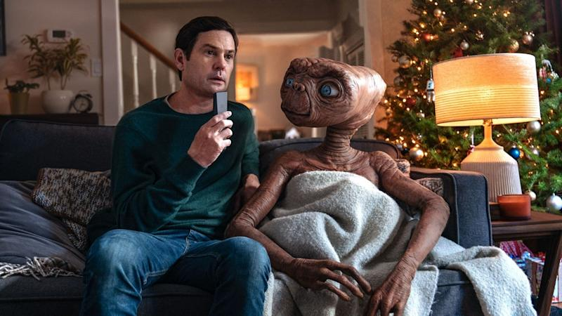 ET reunites with grown-up Elliott in Sky's truly unmissable Christmas ad