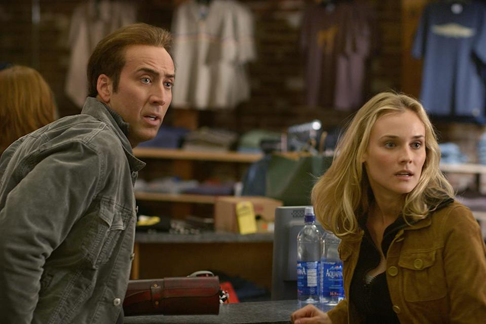 Nicholas Cage and Diane Kruger upto mischief in National Treasure (Image by Disney)