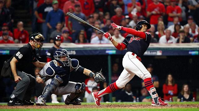 Watch: Indians Complete Five-Run Comeback Against Yankees