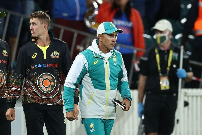 Australian coach Justin Langer was not happy with ICC Match Referee David Boon's decision