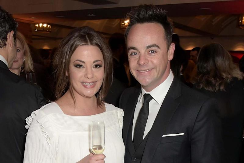 Split: Ant with his estranged wife Lisa Armstrong: Dave Benett