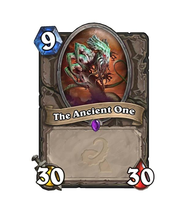 """<p>""""Well, that's game,"""" we'll all be saying to ourselves if The Ancient One ever hits the board. Just pray no one has a BGH to take care of him.</p>"""