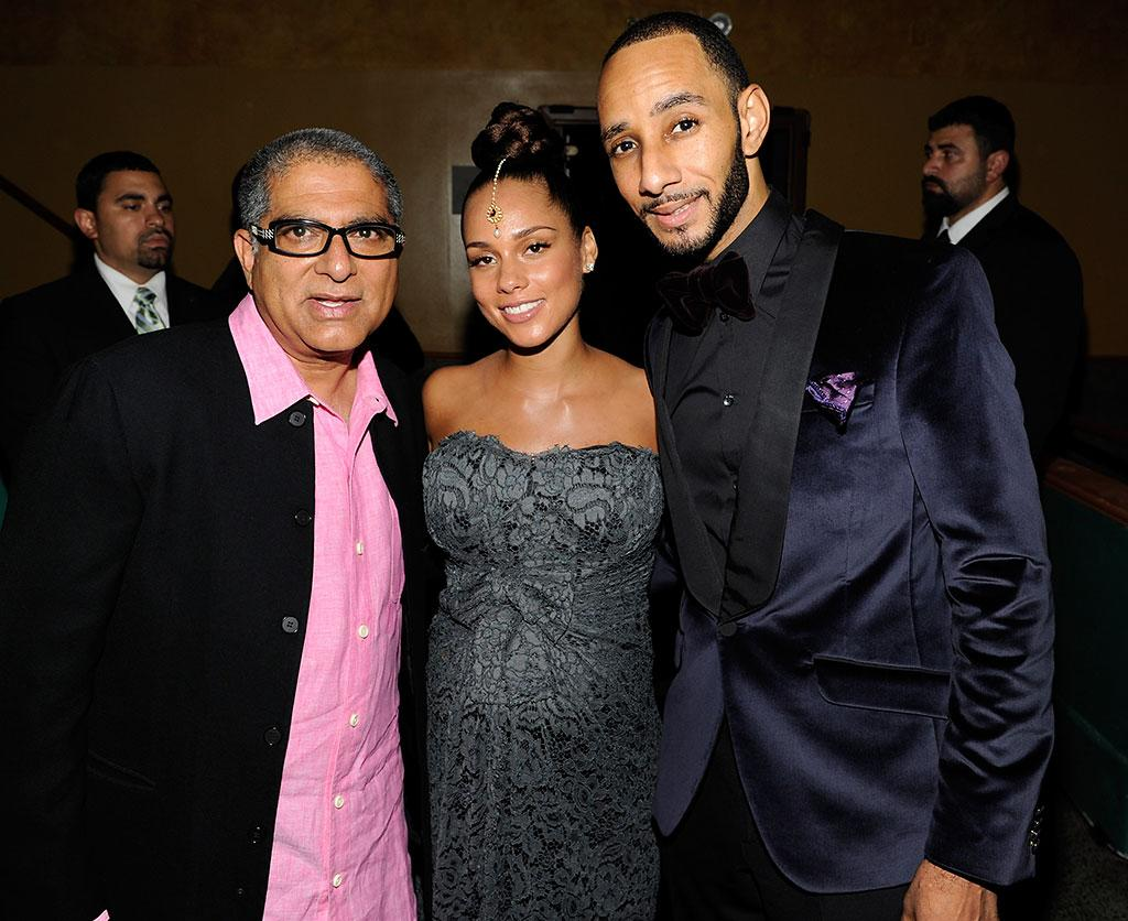 Deepak Chopra, Alicia Keys and Swizz Beatz