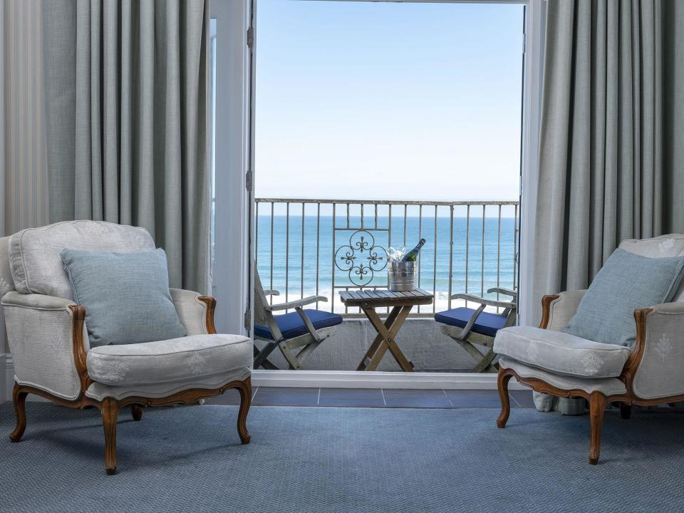 "<p>When travel resumes and we can plan a staycation again, one of our first trips will be to the south west of England where we can check into one of the best hotels in Cornwall for a sun-kissed holiday in the <a href=""https://www.goodhousekeeping.com/uk/lifestyle/travel/a29483104/best-uk-holidays/"" rel=""nofollow noopener"" target=""_blank"" data-ylk=""slk:UK"" class=""link rapid-noclick-resp"">UK</a>.</p><p><strong>Covid-19: </strong><strong>Please check the latest government guidance in <a href=""https://www.gov.uk/government/publications/coronavirus-outbreak-faqs-what-you-can-and-cant-do/coronavirus-outbreak-faqs-what-you-can-and-cant-do#visiting-public-places-and-taking-part-in-activities"" rel=""nofollow noopener"" target=""_blank"" data-ylk=""slk:England"" class=""link rapid-noclick-resp"">England</a> before travelling.</strong></p><p>Famous for its Cornish pasties, Caribbean-like beaches and Celtic Cornish culture, there's no denying that Cornwall is one of the best places to visit in Britain. In fact, research from <a href=""https://go.redirectingat.com?id=127X1599956&url=https%3A%2F%2Fwww.holidaycottages.co.uk%2F&sref=https%3A%2F%2Fwww.goodhousekeeping.com%2Fuk%2Flifestyle%2Ftravel%2Fg35535653%2Fbest-hotels-in-cornwall%2F"" rel=""nofollow noopener"" target=""_blank"" data-ylk=""slk:Holidaycottages"" class=""link rapid-noclick-resp"">Holidaycottages</a> recently found that Cornwall is the top location on staycationing Brits' bucket lists, with around half of us choosing it over other beauty spots, including the <a href=""https://www.goodhousekeeping.com/uk/lifestyle/travel/g34327235/spa-hotels-cotswolds/"" rel=""nofollow noopener"" target=""_blank"" data-ylk=""slk:Cotswolds"" class=""link rapid-noclick-resp"">Cotswolds</a>, Devon and Snowdonia.</p><p>Popular among couples, families, solo visitors and even <a href=""https://www.goodhousekeeping.com/uk/lifestyle/travel/g34337388/dog-friendly-hotels-uk/"" rel=""nofollow noopener"" target=""_blank"" data-ylk=""slk:four-legged holidaymakers"" class=""link rapid-noclick-resp"">four-legged holidaymakers</a>, Cornwall is a much-loved UK destination for a reason. Its heavenly islands (hello Isles of Scilly), a food scene that rivals London's and the wild scenery (we're looking at you, Bodmin Moor) make Cornwall a brilliant place for a British break and the best Cornwall hotels embody the beauty and warmth of the county.</p><p>Whether you dream of soaking up the seaside vibes at a grand <a href=""https://www.goodhousekeeping.com/uk/lifestyle/travel/g34584524/beach-hotels-uk/"" rel=""nofollow noopener"" target=""_blank"" data-ylk=""slk:beach hotel"" class=""link rapid-noclick-resp"">beach hotel</a> or enjoying boutique luxury at a chic inn with views, you'll love our selection of the best hotels in Cornwall for a holiday after lockdown.</p><p>With <a href=""https://www.goodhousekeeping.com/uk/lifestyle/travel/g34842793/staycation-uk/"" rel=""nofollow noopener"" target=""_blank"" data-ylk=""slk:staycations"" class=""link rapid-noclick-resp"">staycations</a> on the cards for when we're out of lockdown, we've picked the wonderful Cornish hotels that aren't just for summer, but worth considering for autumn or winter escape in 2021.</p><p>Whatever your holiday type, budget or activity style, you'll want to keep scrolling for our pick of the best hotels in Cornwall.</p>"