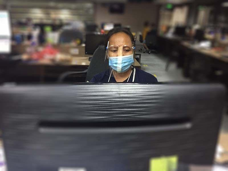 Face shields made mandatory for workers
