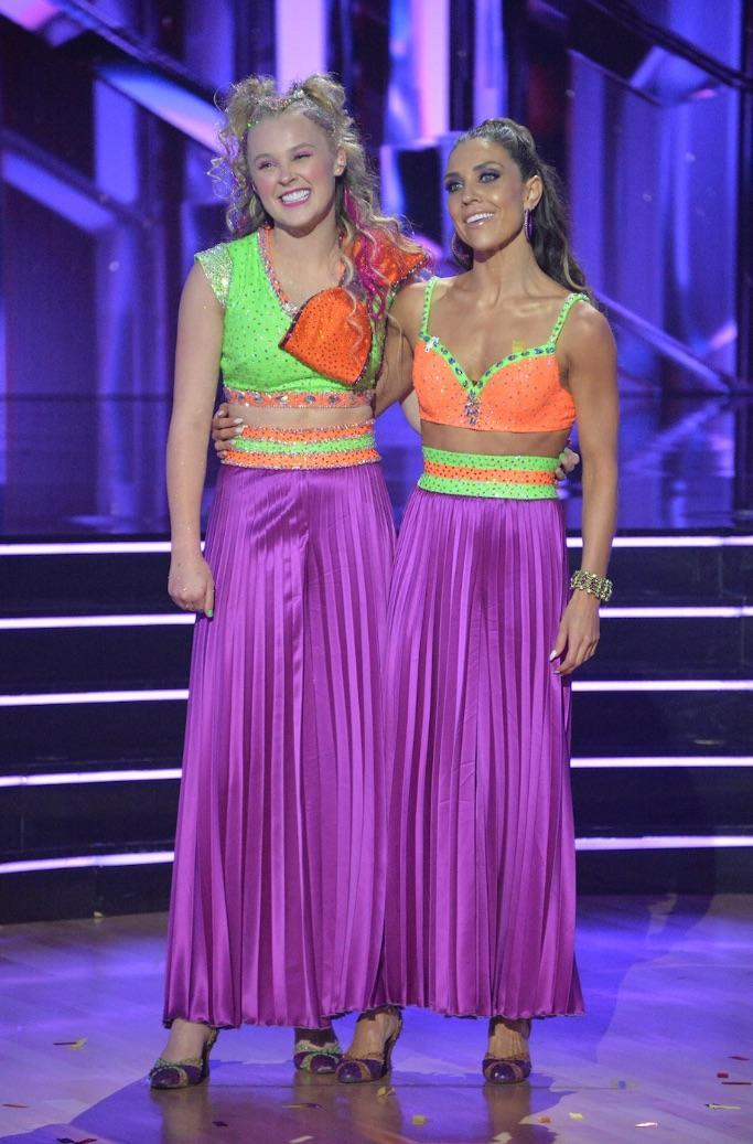 """Siwa and Johnson on """"DWTS."""" - Credit: Courtesy of ABC"""